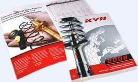 Уже доступен каталог амортизаторов KYB-2008!