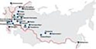 График семинаров-тренингов KYB Europe GmbH в 2009 году в России