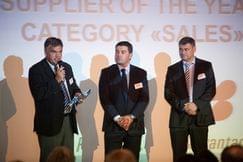 Компания KYB Europe получила награду от Group Auto International в категории «Sales» по итогам 2010 года