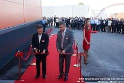 Церемония открытия Центрального распределительного склада KYB в Москве
