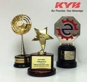 KYB - трижды призер международной выставки MIMS 2014